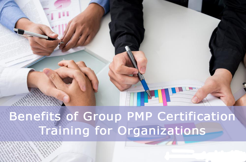 Benefits of Group PMP Certification Training for Organizations