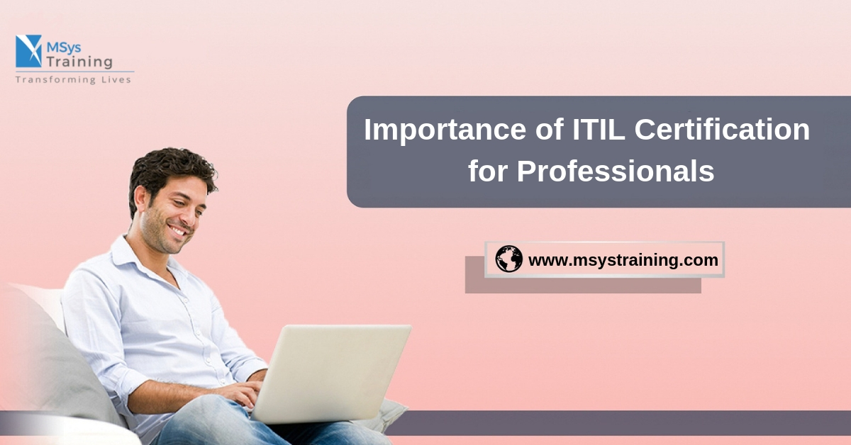 ITIL Certification for Professional