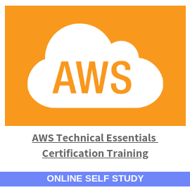 AWS Technical Essentials Certification Training-Online-Self-Study