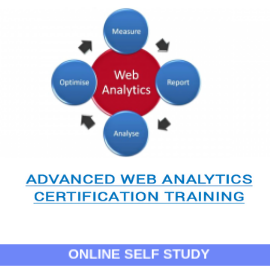 Advanced Web Analytics Certification-Online-Self-Study