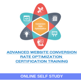 Advanced Website Conversion Rate Optimization-Online-Self-Study
