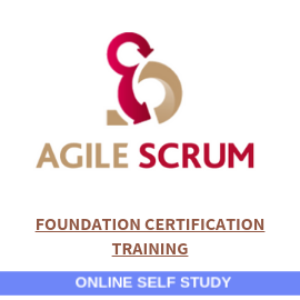 Agile and Scrum Foundation Certification-Online-Self-Study