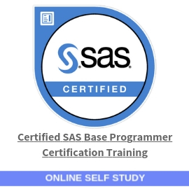 SAS Base Programmer certification training