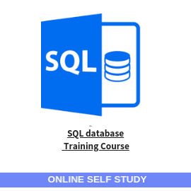 SQL database training course-Online-Self-Study