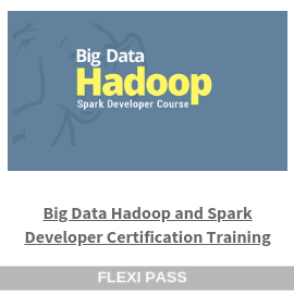 Big Data Hadoop and Spark Developer Certification Training-Flexipass