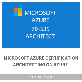 Microsoft Azure Certification - Architecting on Azure -Flexipass