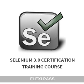 Selenium 3 Certification-Flexipass