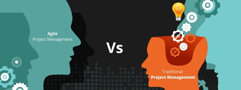 agile project management vs traditional project management
