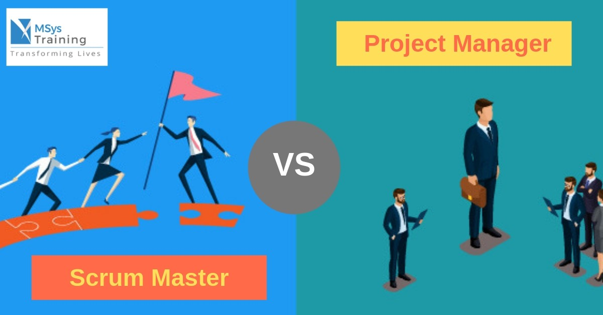 Scrum Manager vs Project Manager