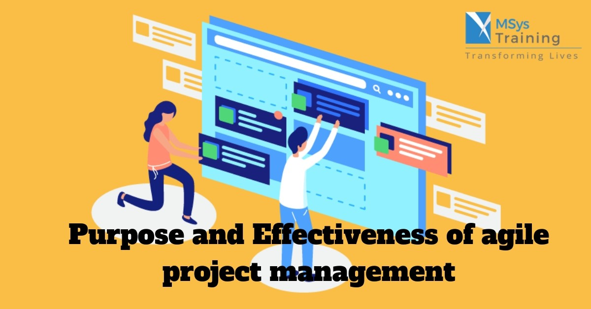 effectiveness of agile project management