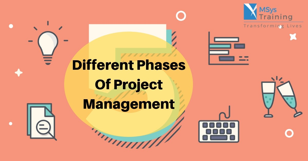 different phases of project management
