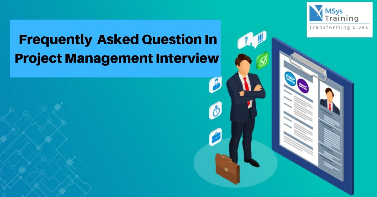 faqs in project management