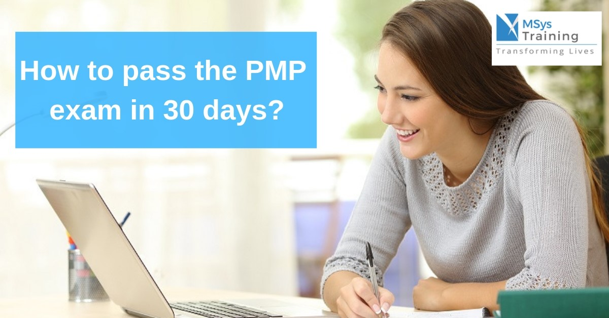 How to pass pmp exam