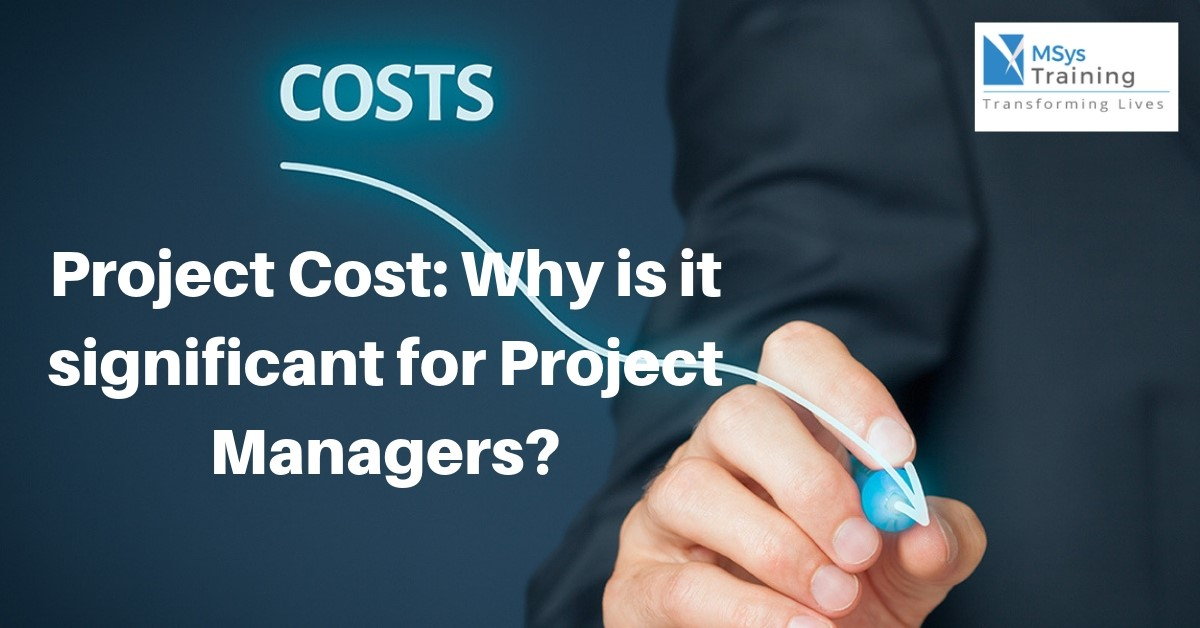 project cost for project managers