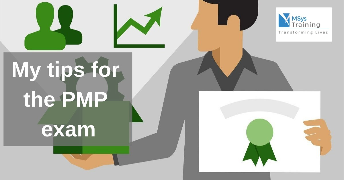 Tips for pmp exam