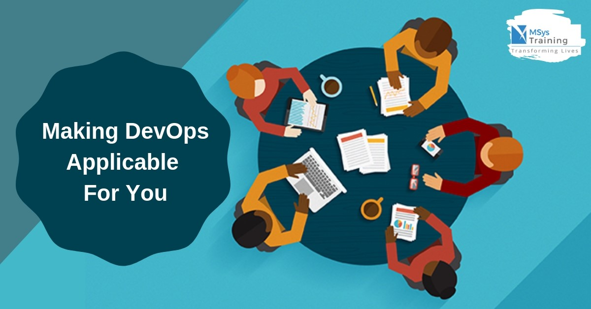 making devops applicable for you