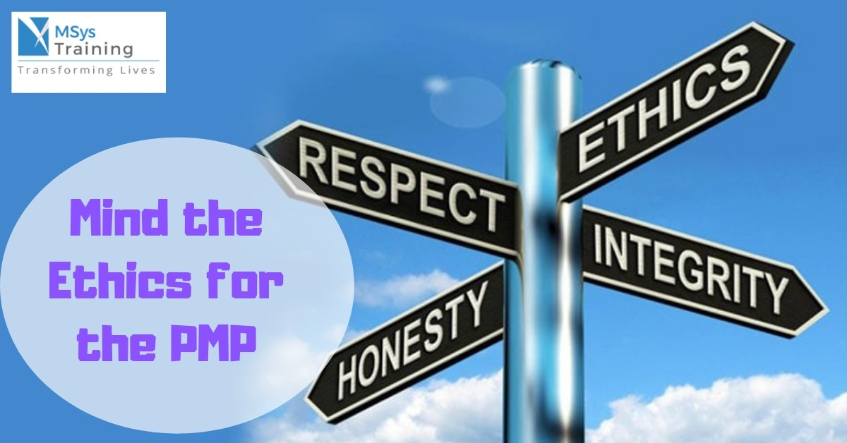 mind the ethics for pmp