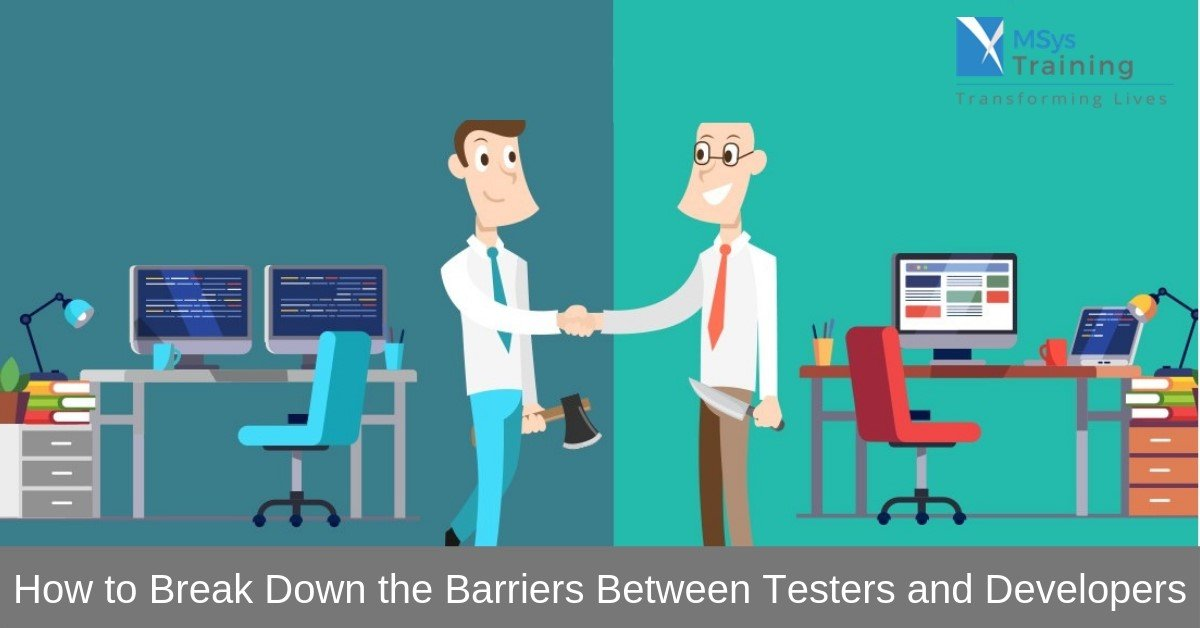 testers and developers