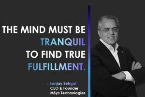 Sanjay Sehgal CEO and Founder