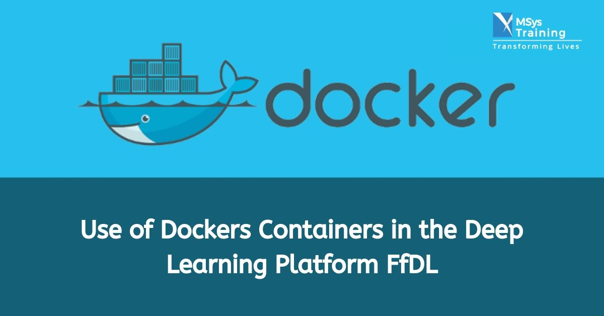 use of dockers containers in deep learning