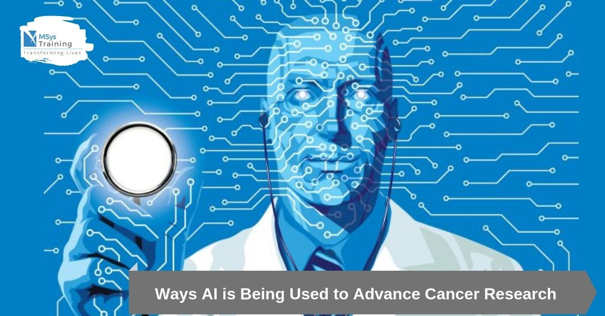 AI is used to advance cancer research
