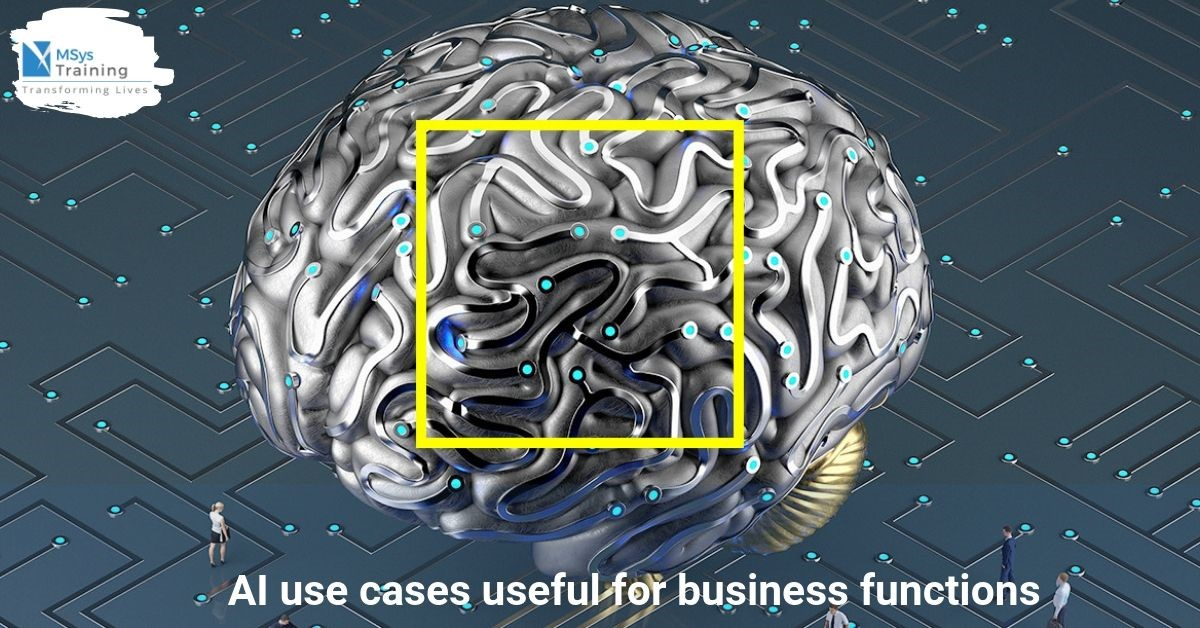 AI use cases for business functions