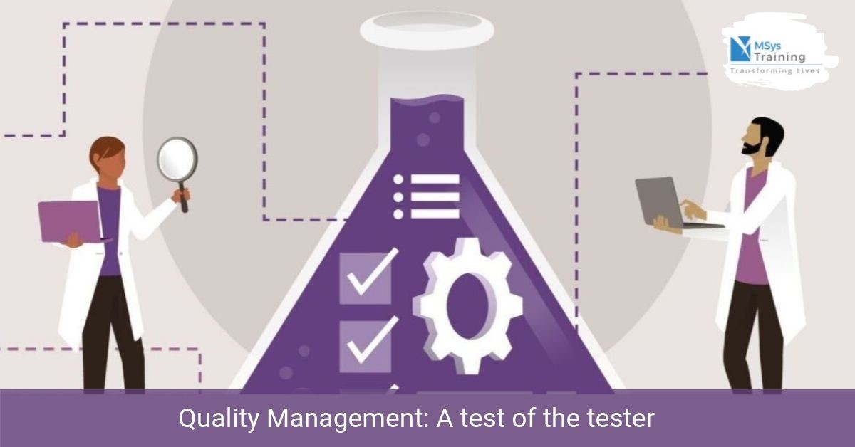 quality management tester