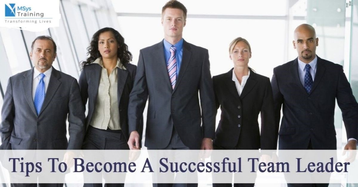 tips to become a successful leader