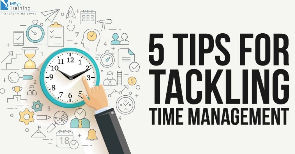 5 tips for tackling time management