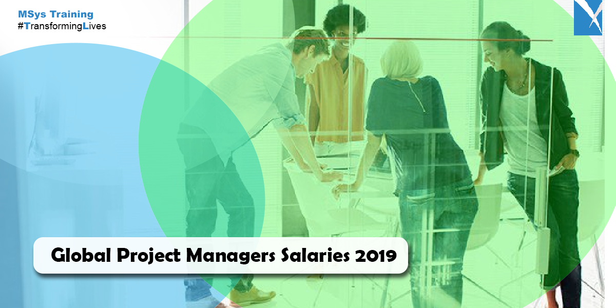 global project managers salaries