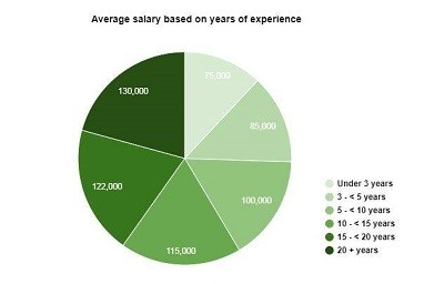 Project Manager Salaries Based on Professional Experience