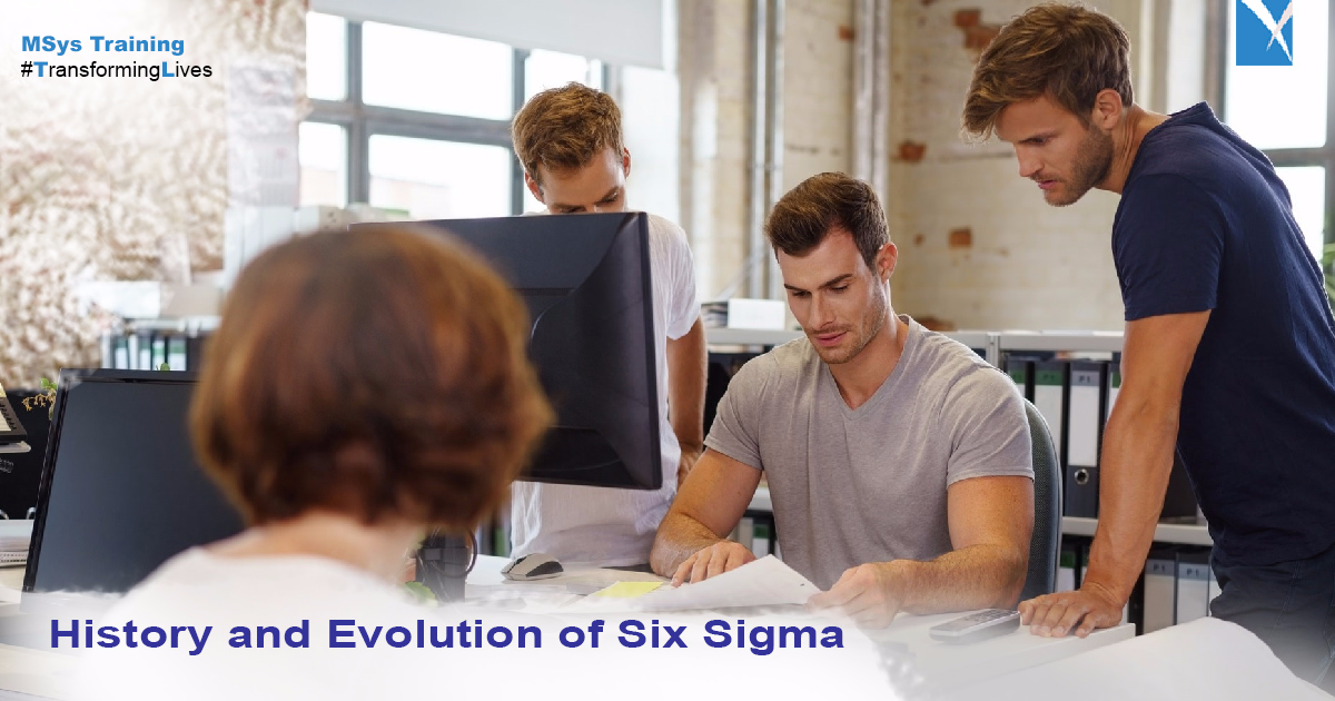 history and evolution of six sigma