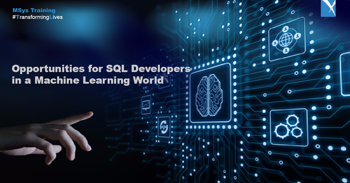 opportunities for SQL developers in machine learning