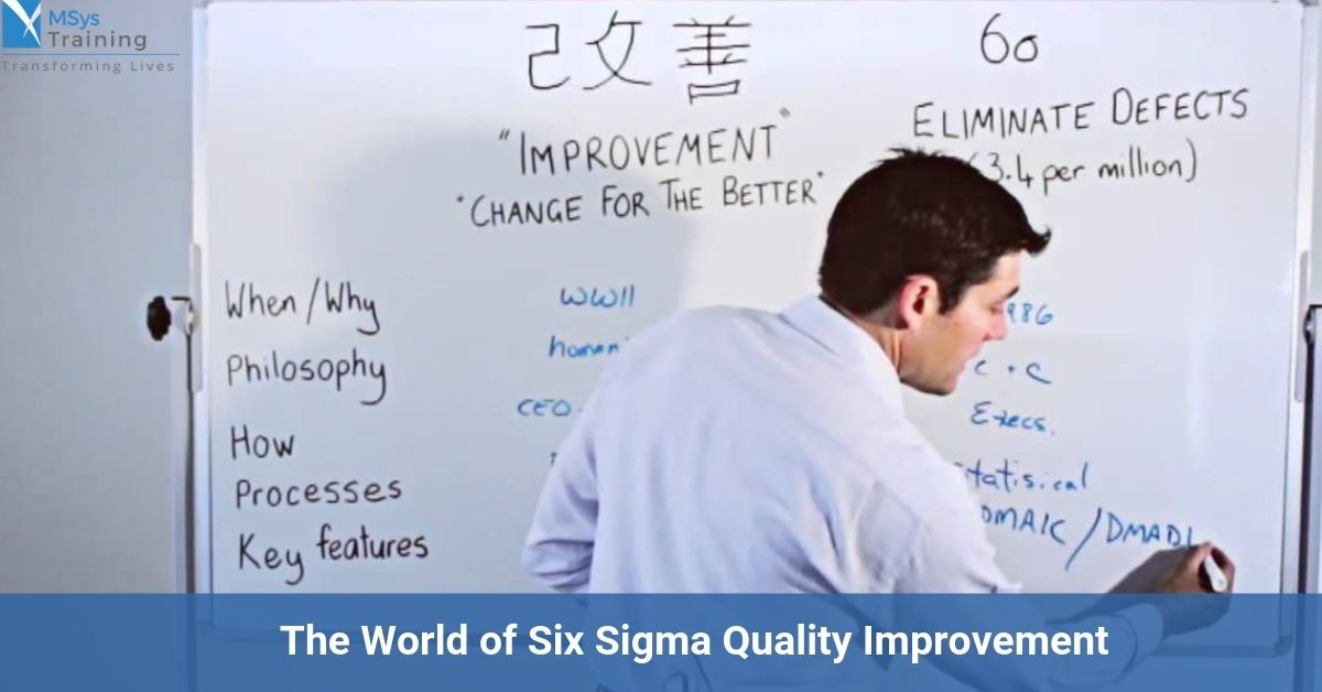 six sigma quality improvement