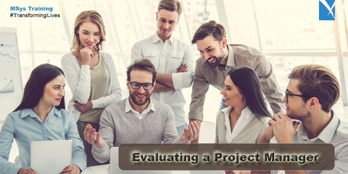 Evaluating a Project Manager