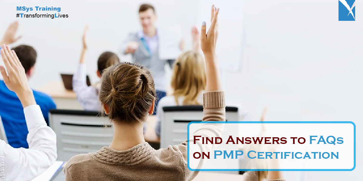Find Answers to FAQs on PMP Certification