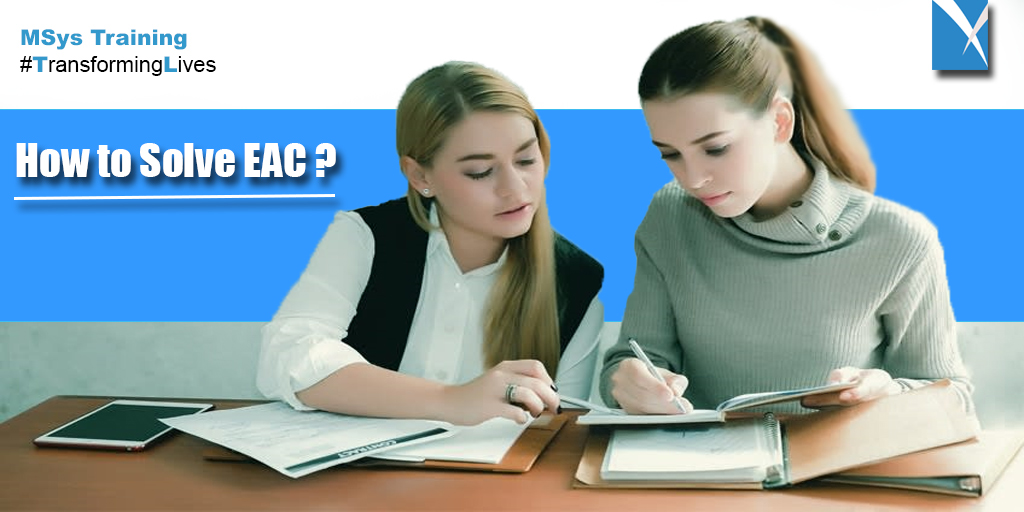 How to Solve for EAC