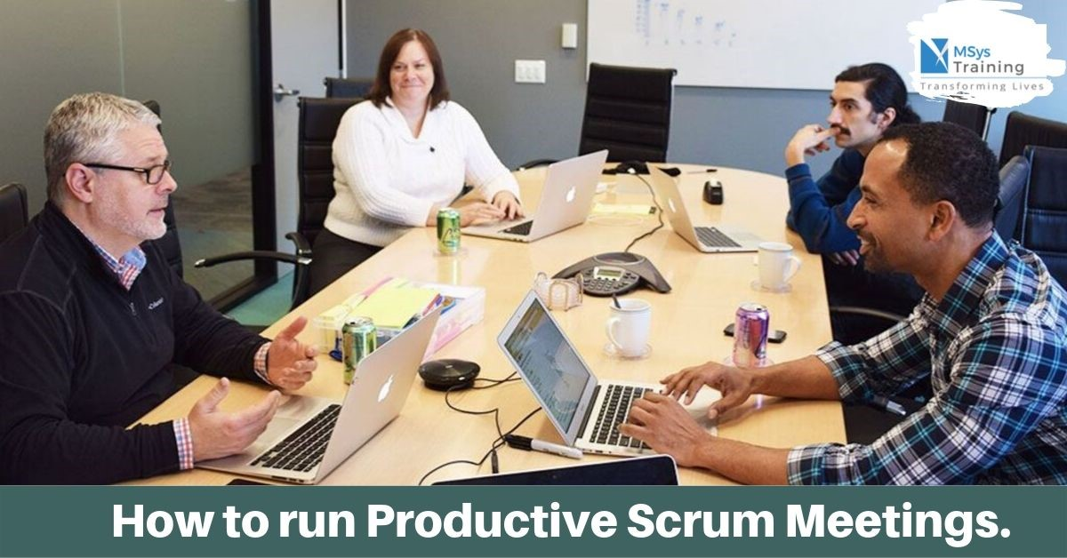 productive scrum meeting