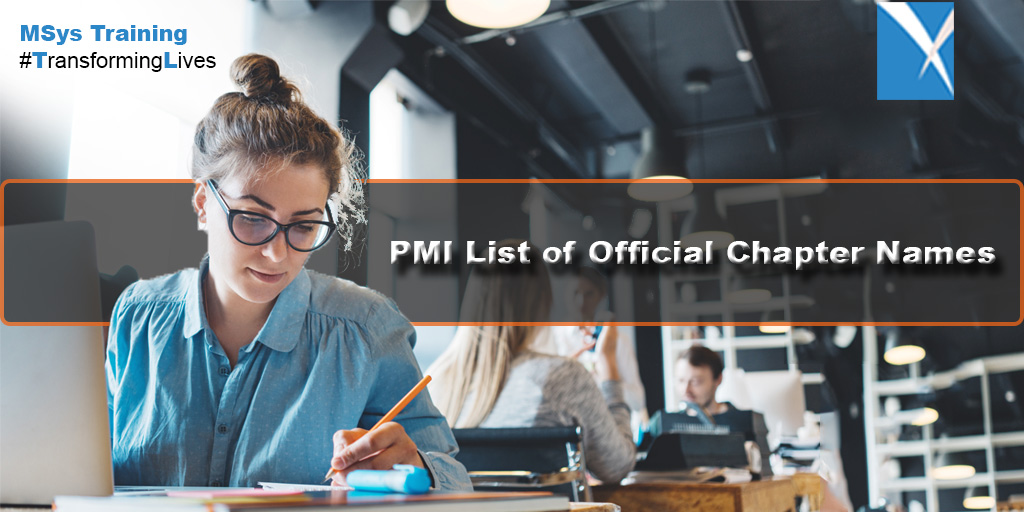 PMI List of Official Chapter Names