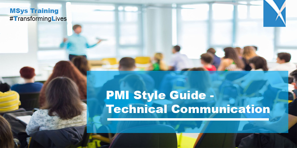 PMI Style Guide- Technical Communication