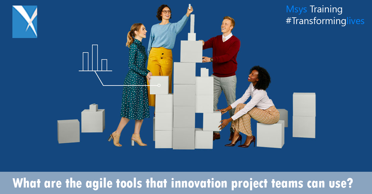 What are the agile tools that innovation project teams can use?