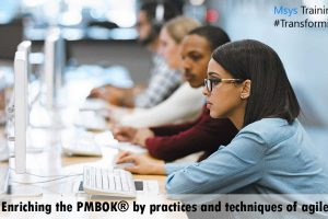 Enriching the PMBOK® by practices and techniques of agile