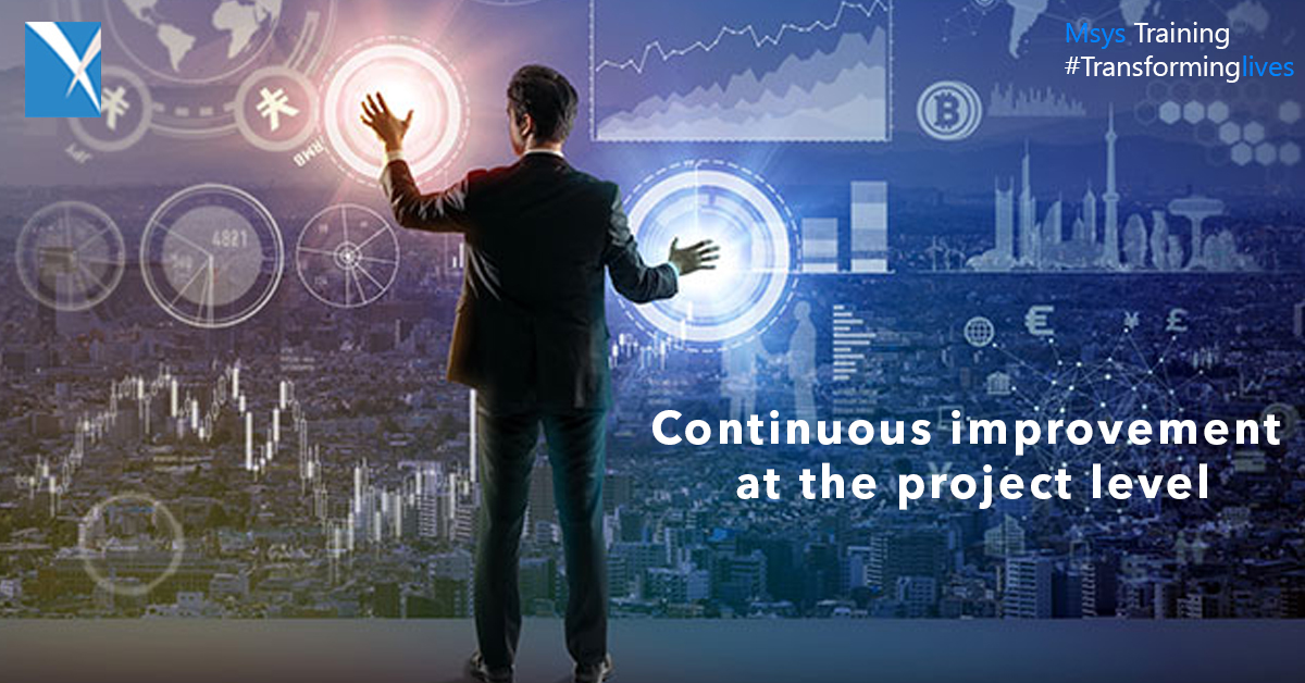 Continuous improvement at the project level